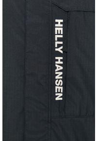 Niebieska kurtka Helly Hansen z kapturem