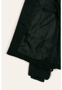 Czarna kurtka LMTD na co dzień, z kapturem, casualowa