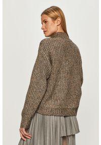 Wielokolorowy sweter Karl Lagerfeld z aplikacjami, długi