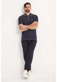 Koszulka polo Armani Exchange polo, z nadrukiem, sportowa