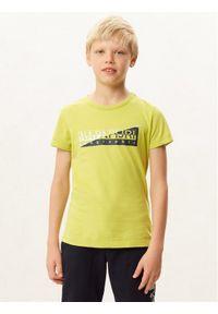 Zielony t-shirt Napapijri