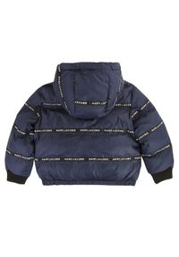 Niebieska kurtka puchowa Little Marc Jacobs