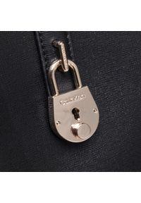 Calvin Klein - Torebka CALVIN KLEIN - Shopper Lg K60K607533 BAX. Kolor: czarny. Materiał: skórzane. Rodzaj torebki: na ramię