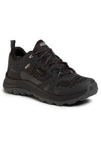 keen - Trekkingi KEEN - Terradora II Wp 1022345 Black/Magnet. Kolor: czarny. Materiał: materiał. Szerokość cholewki: normalna