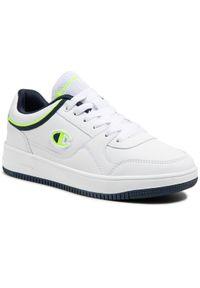 Champion Sneakersy Rebound Low B Gs S31968-S21-WW010 Biały. Kolor: biały