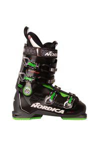 NORDICA - Buty narciarskie Speed Machine 90. Zapięcie: klamry. Kolor: czarny, szary, zielony, wielokolorowy. Materiał: syntetyk, puch, materiał. Technologia: Primaloft. Sport: narciarstwo