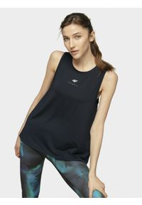 Niebieska koszulka sportowa 4f na fitness i siłownię