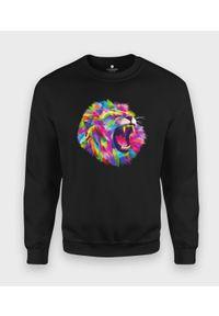 Bluza MegaKoszulki klasyczna, w kolorowe wzory