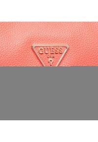Guess - Torebka GUESS - Destiny (VG) HWVG78 78070 COR. Kolor: pomarańczowy. Materiał: skórzane