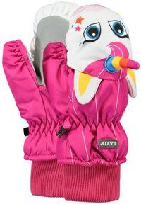 Barts - BARTS Rękawice dziecięce Nylon Mitts 3d FUCHSIA. Materiał: nylon