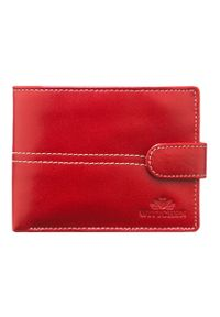 Czerwony portfel Wittchen z aplikacjami