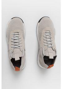 Sneakersy BOSS z cholewką, na sznurówki