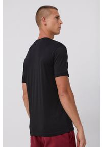 Emporio Armani - T-shirt bawełniany (2-pack). Okazja: na co dzień. Kolor: czarny. Materiał: bawełna. Wzór: nadruk. Styl: casual