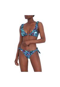 Strój kąpielowy damski dwuczęściowy Firefly Arife 302421. Materiał: elastan, materiał, poliamid. Wzór: kwiaty, nadruk