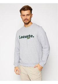 Lacoste Bluza SH2173 Szary Classic Fit. Kolor: szary