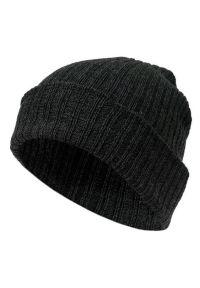 Szara czapka Pako Jeans klasyczna, na jesień
