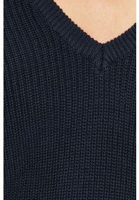 Niebieski sweter Vila raglanowy rękaw, na co dzień, casualowy