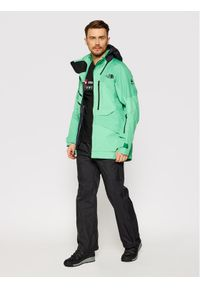 The North Face Kurtka narciarska Brigandine NF0A3M1VJY81 Zielony Regular Fit. Kolor: zielony. Sport: narciarstwo