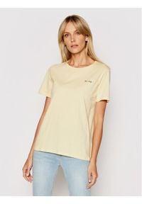 Żółty t-shirt NA-KD