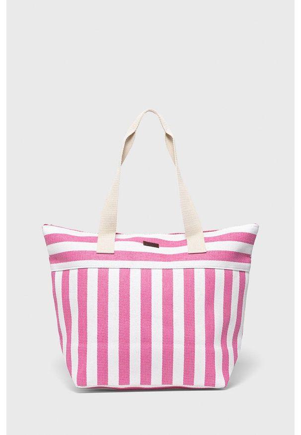 Protest - Torebka. Kolor: różowy. Rodzaj torebki: na ramię