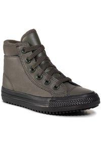 Converse Sneakersy Ctas Pc Boot Hi 668923C Zielony. Kolor: zielony