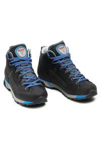 Czarne buty trekkingowe Olang trekkingowe