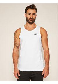 Biały tank top Nike