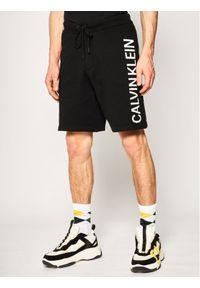 Czarne spodenki sportowe Calvin Klein Jeans