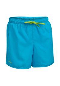 OLAIAN - Spodenki Surfing Bs 50 Dla Dzieci. Kolor: niebieski, wielokolorowy, turkusowy. Materiał: poliester, materiał. Długość: krótkie