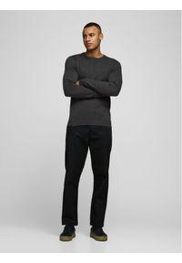 Jack & Jones - Jack&Jones Sweter Basic 12137190 Szary Regular Fit. Kolor: szary