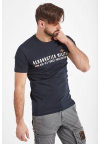 T-shirt Aeronautica Militare elegancki