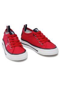 U.S. Polo Assn - Tenisówki U.S. POLO ASSN. - Wave149 WAVE4149S1/CY1 Red. Kolor: czerwony. Materiał: skóra ekologiczna, materiał. Szerokość cholewki: normalna #4