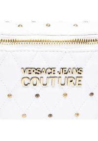 Versace Jeans Couture - Saszetka nerka VERSACE JEANS COUTURE - E1VWABQ6 71881 003. Kolor: biały. Materiał: skóra