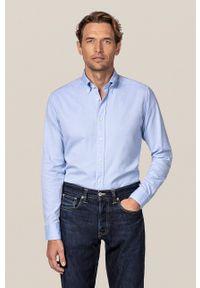Eton - ETON - Koszula bawełniana. Kolor: niebieski. Materiał: bawełna