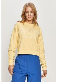 Żółta bluza TALLY WEIJL bez kaptura, długa