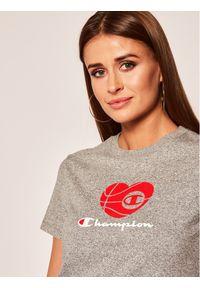Champion T-Shirt 112965 Szary Regular Fit. Kolor: szary
