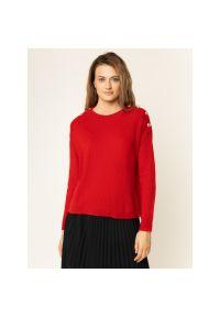 Czerwony sweter The Kooples
