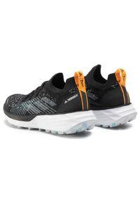 Czarne buty do biegania Adidas Adidas Terrex, na co dzień, z cholewką