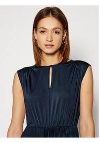 Marella Sukienka koktajlowa Broise 36210311 Granatowy Regular Fit. Kolor: niebieski. Styl: wizytowy