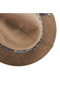 Pepe Jeans - Kapelusz PEPE JEANS - Yosy Hat PG040216 Tan 869. Kolor: beżowy. Materiał: materiał, bawełna, poliester