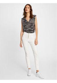 Morgan Jeansy 211-PWHITE Biały Slim Fit. Kolor: biały #2