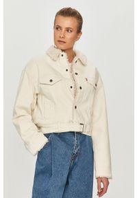 Biała kurtka Levi's® bez kaptura, biznesowa