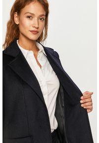Niebieski płaszcz MAX&Co. z klasycznym kołnierzykiem, casualowy, na co dzień