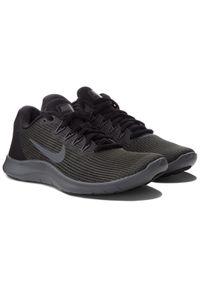 Zielone buty do biegania Nike Nike Flex, z cholewką