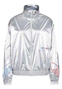 Srebrna kurtka przejściowa Adidas