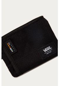 Czarny portfel Vans gładki