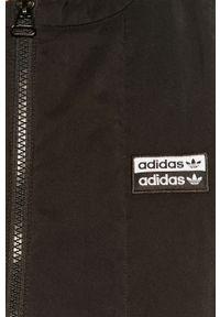Czarna kamizelka adidas Originals na co dzień, casualowa, bez kaptura