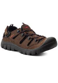 CMP Sandały Avior Hiking Sandal 39Q9657 Brązowy. Kolor: brązowy