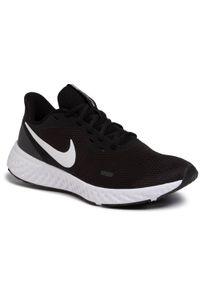 Czarne buty do biegania Nike Nike Revolution, z cholewką