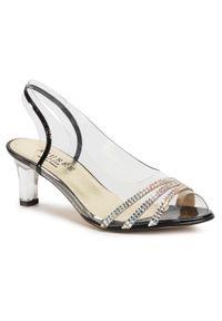 Białe sandały Azurée z aplikacjami, wizytowe
